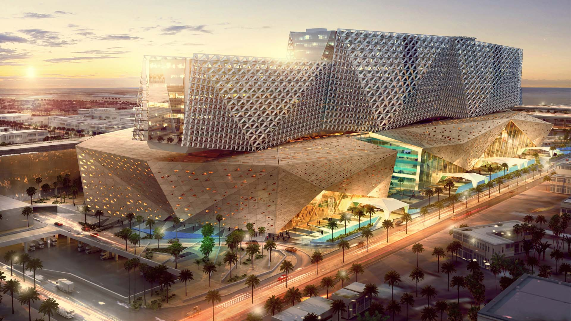 Kuwait Childrens Hospital by Dezign Technic