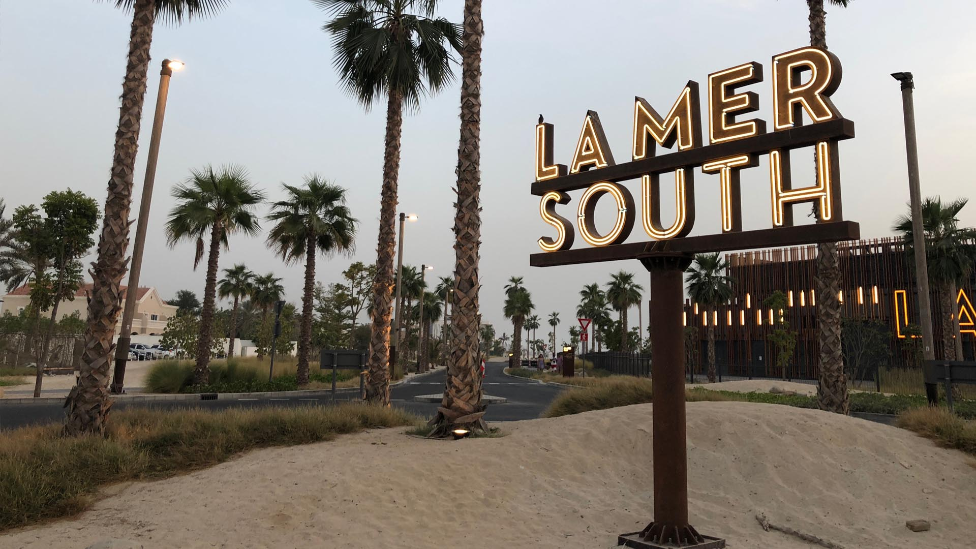 Lamer South Signage from Dezign Technic