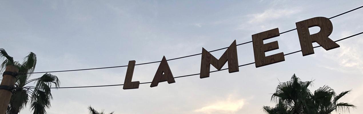 Lamer Dubai Signage